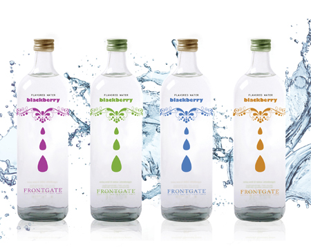 Flavoured water bottle desi Logo Design Australia Blog