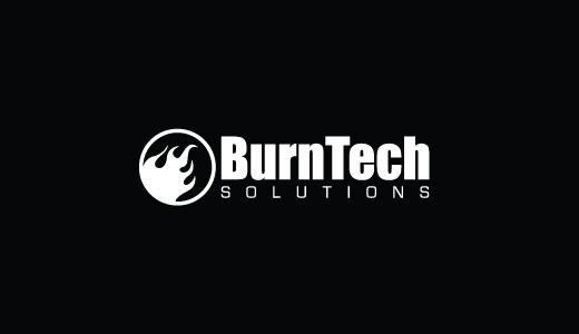 Burntech Solutions- Nice Technology Logo Design
