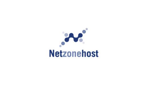 Net-Zone-Host-technology-logo-design