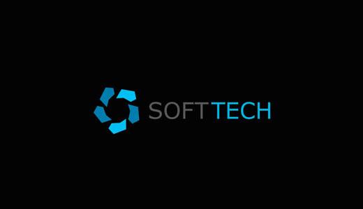 Softtech- Creative Logo Design