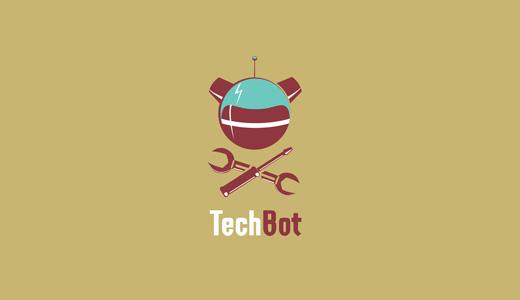 TechBot- IT Company Logo