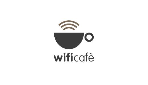 WiFi-Cafè-IT-logo-design