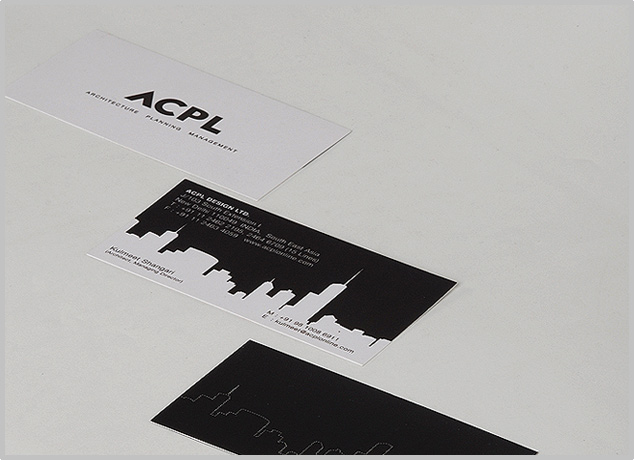 Architecture Company Business Card Design