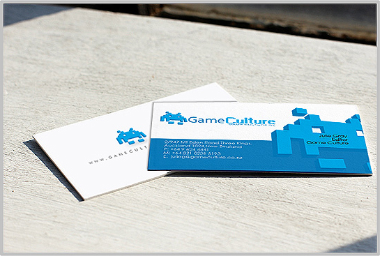 Exclusive business card design for australian business branding gaming company business card design in digital style reheart Image collections