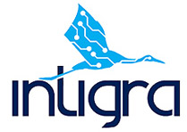 Digital logo design for intigra