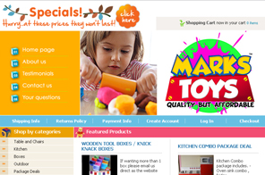 Best Web design for Markstoys