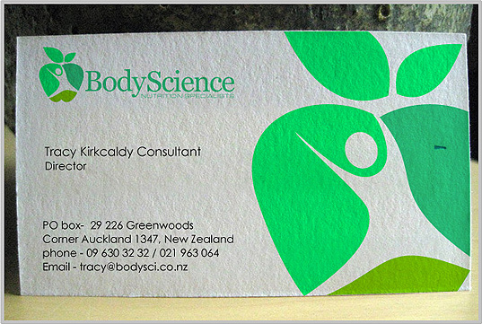australian business card design for brand promotion at logo people