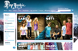 Popjunkiedesign - Best Dynamic Website designed by LogoPeople