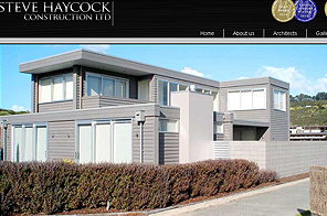 Stevehaycockconstruction - Inspiring Website design by LogoPeople
