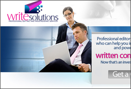 Write Solutions - Website design by LogoPeople
